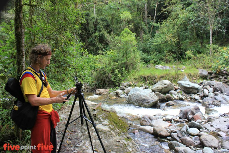 You could earn a living walking through remote jungles, filming wildlife