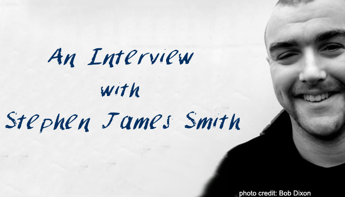 Interview with Irish Poet & Playwright Stephen James Smith