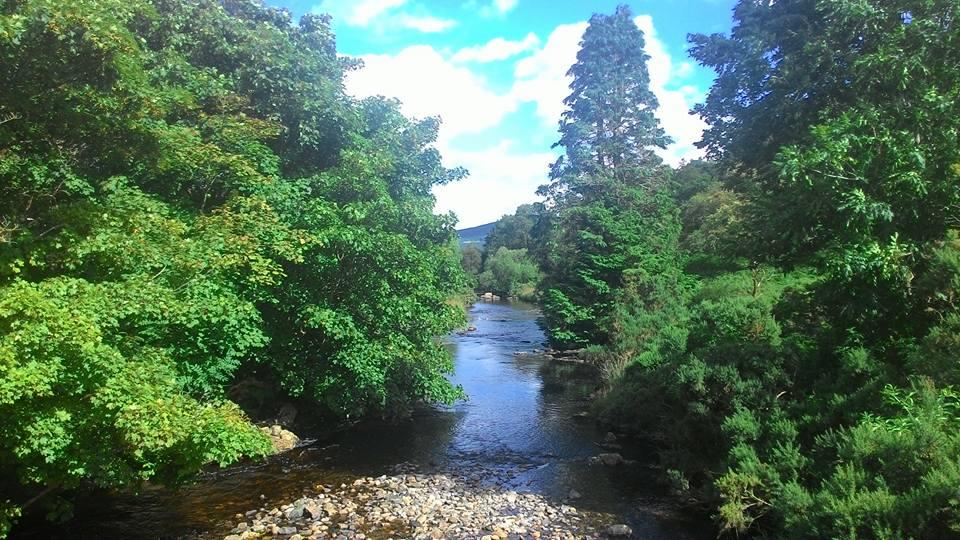 The tranquil scene of Glendalough