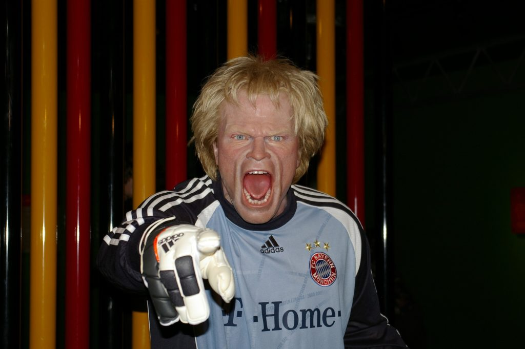 Serious, thoughtful and understated. Oliver Kahn anybody?